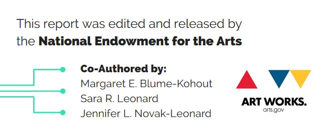 Credits for report by National Endowment for the Arts
